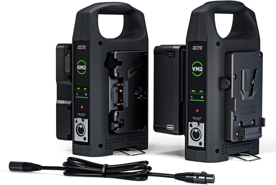 Anton Bauer GM2 & VM2 Dual-Bay Chargers