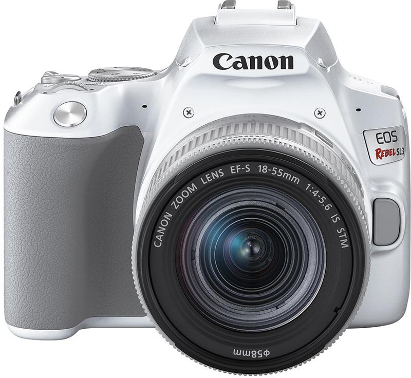 Canon EOS Rebel SL3 in White