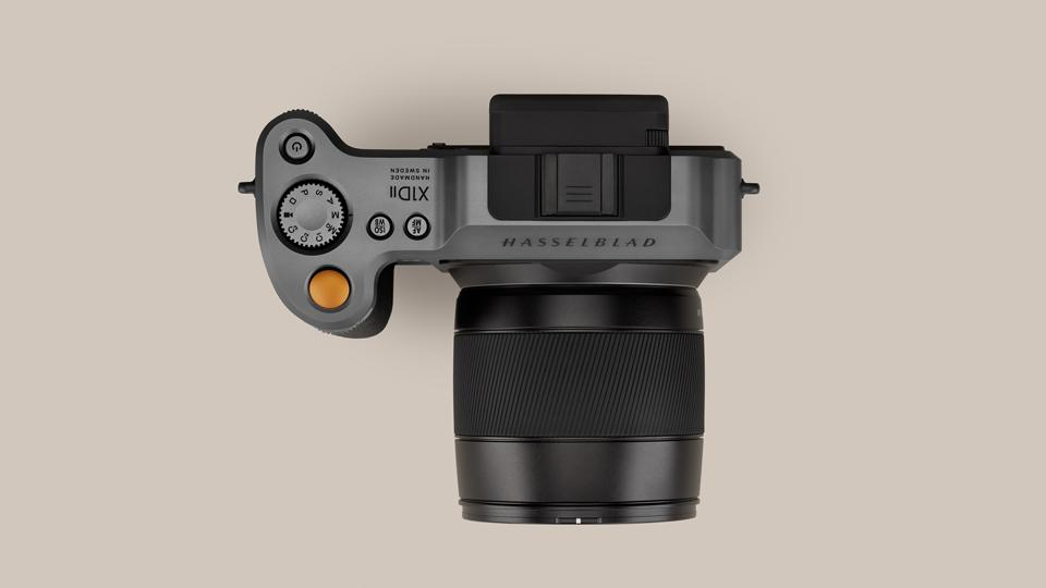 Hasselblad X1D II 50C Medium Format Mirrorless Camera Top view