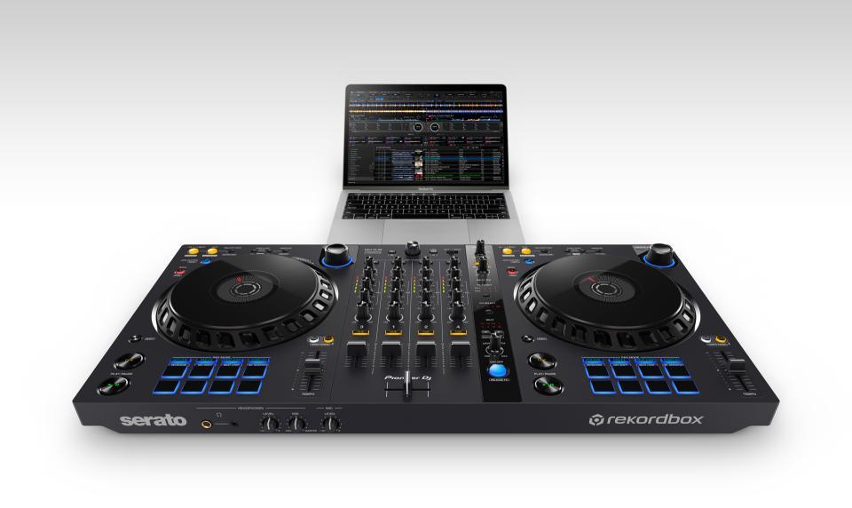 Pioneer DJ DDJ-FLX6 4-Channel DJ Controller for rekordbox and Serato DJ Pro