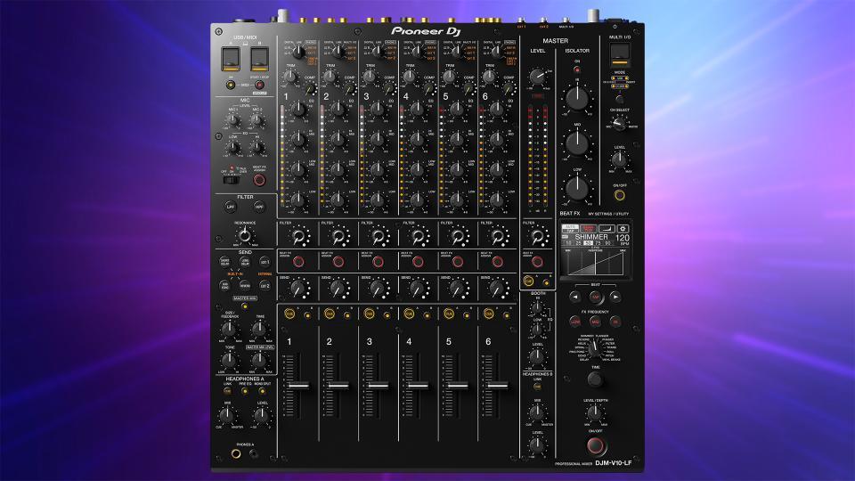 Pioneer DJ DJM-V10-LF 6-Channel Professional DJ Mixer
