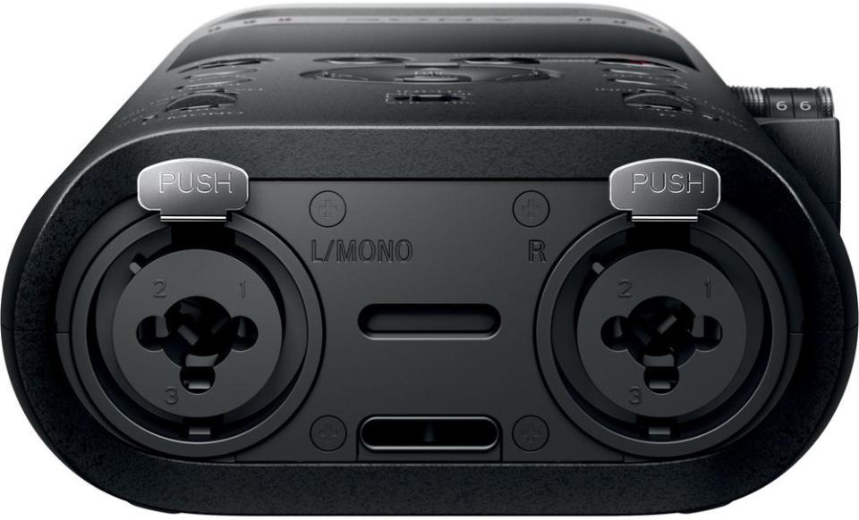 "Sony PCM-D10 3.5mm & Dual XLR-1/4"" Mic/Line Inputs"