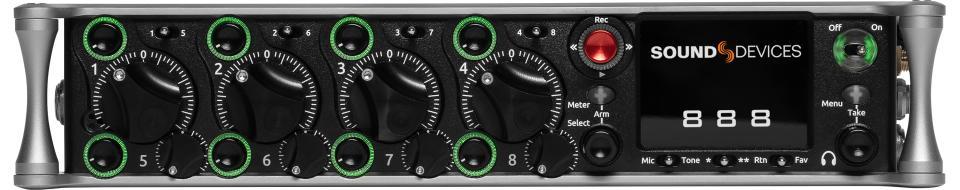 888 Portable Compact Mixer-Recorder