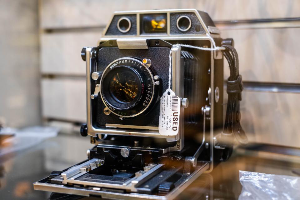 Warehouse manufactory photographic equipment and cinema equipment