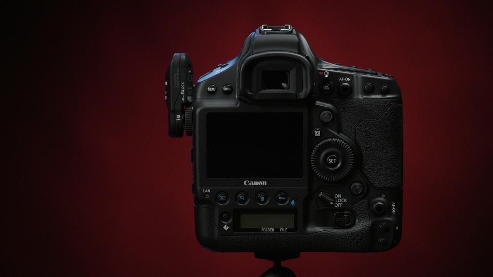 Canon EOS-1D X Mark III DSLR Camera - Rear