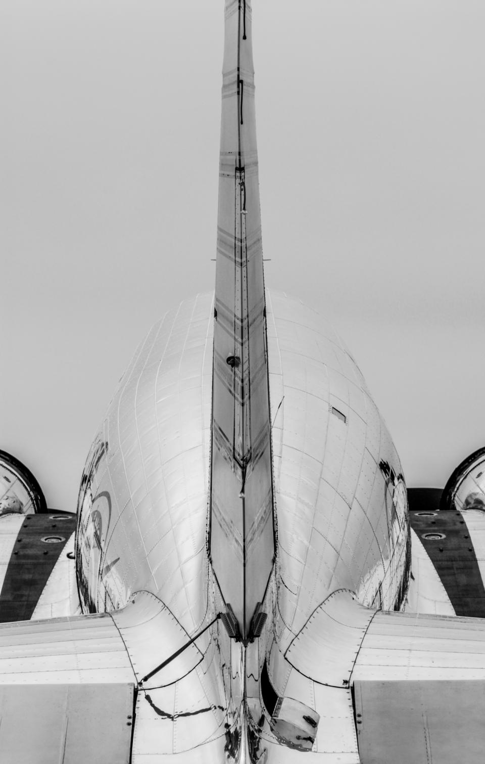 More than shape, this Douglas DC-3 has form. A beautiful form.