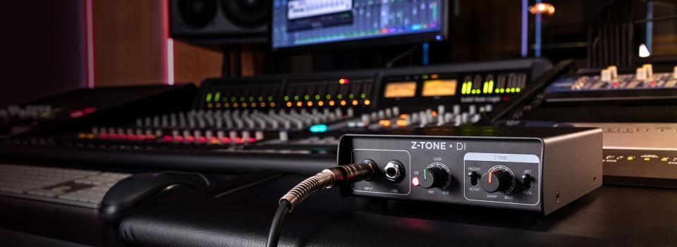 IK Multimedia Z-Tone DI Instrument Preamp and Active DI Box
