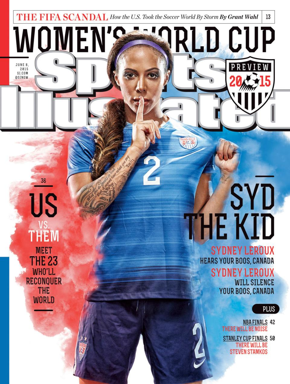 Sports Illustrated cover. Photograph © Alexis Cuarezma