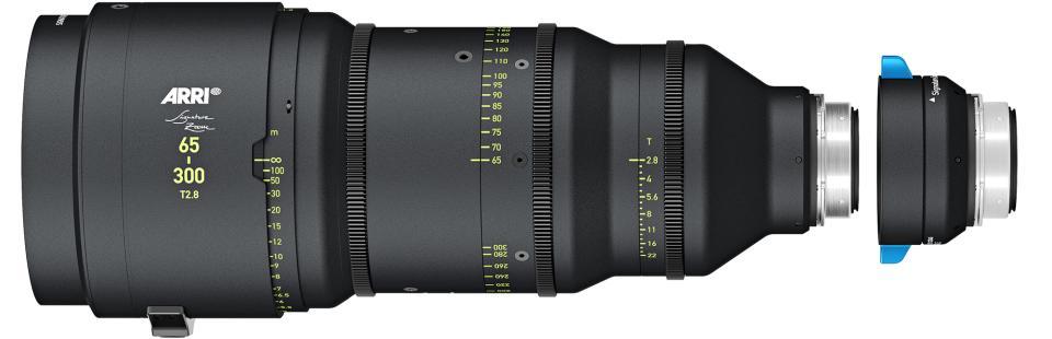 ARRI 1.7X Extender for 65-300mm T2.8 Zoom & 280mm T2.8 Lens