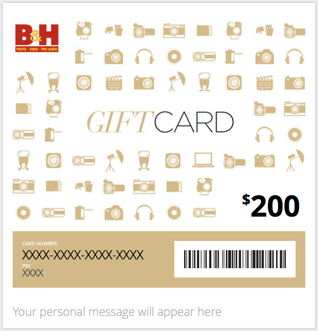 Hands-On Review: the B&H Electronic Gift Card | B&H Explora