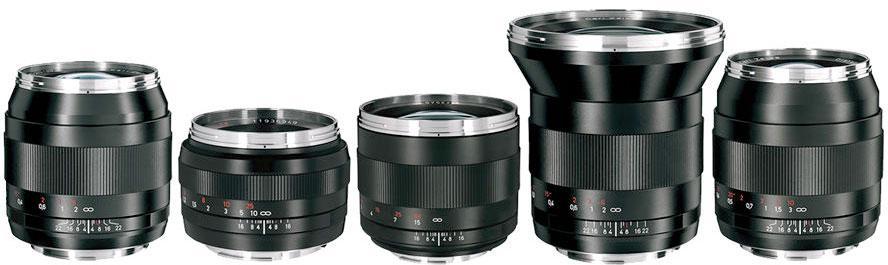 Zeiss 5-Lens Prime Kit