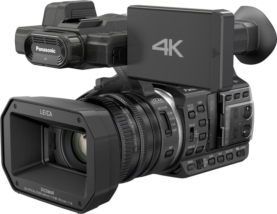 First look new panasonic hc x1000 4k camcorder packed for Housse camescope sony