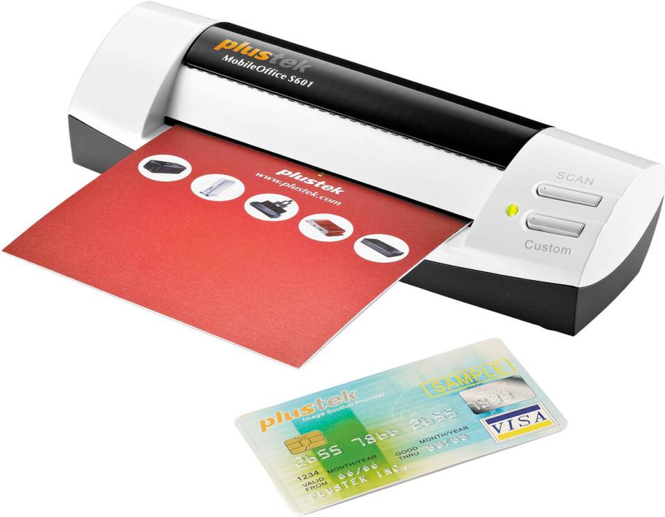 Plustek MobileOffice S601 Scans and Organizes Business Cards | B&H ...
