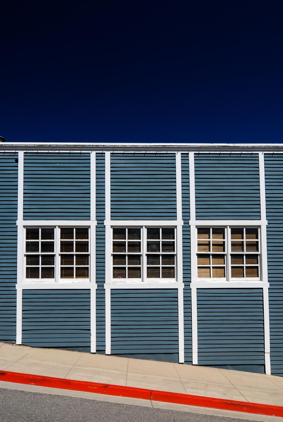Many manmade structures love to be photographed in their colorful midday splendor.