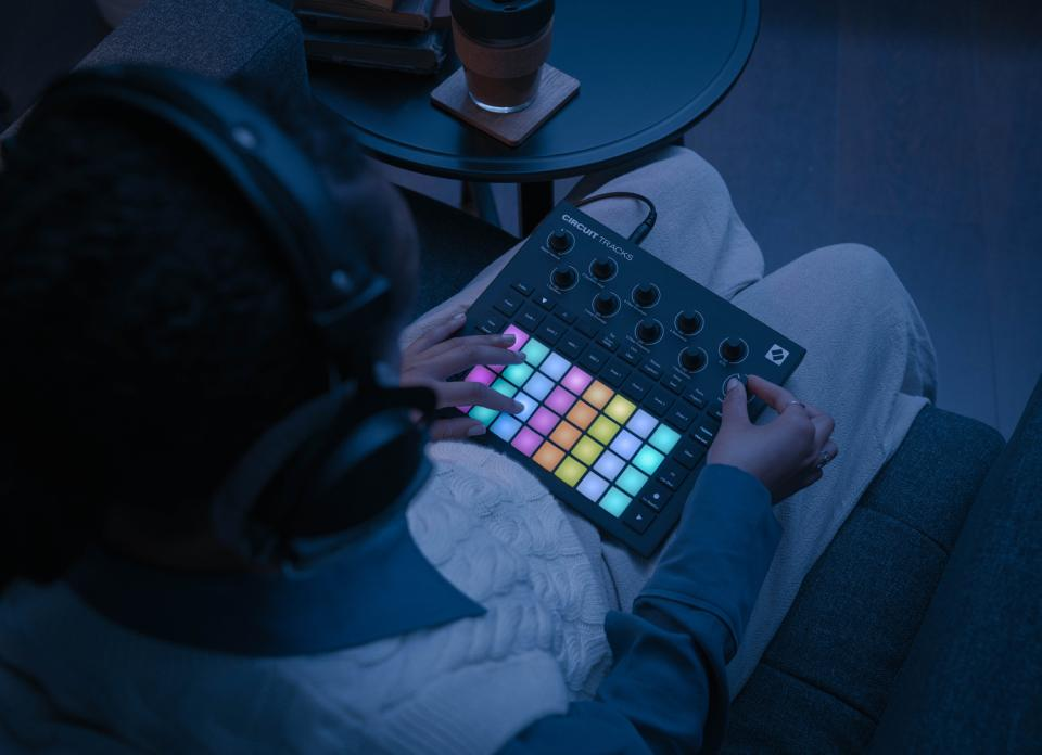 Novation Circuit Tracks Standalone Groove Box with Synths, Drums, and Sequencer