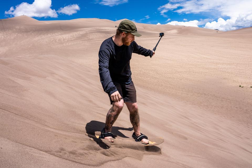DJI Osmo Action Sand Dunes Colorado