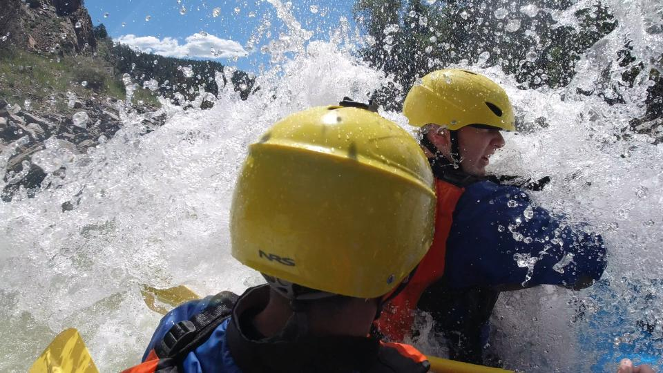 Osmo Action Whitewater Rafting Colorado