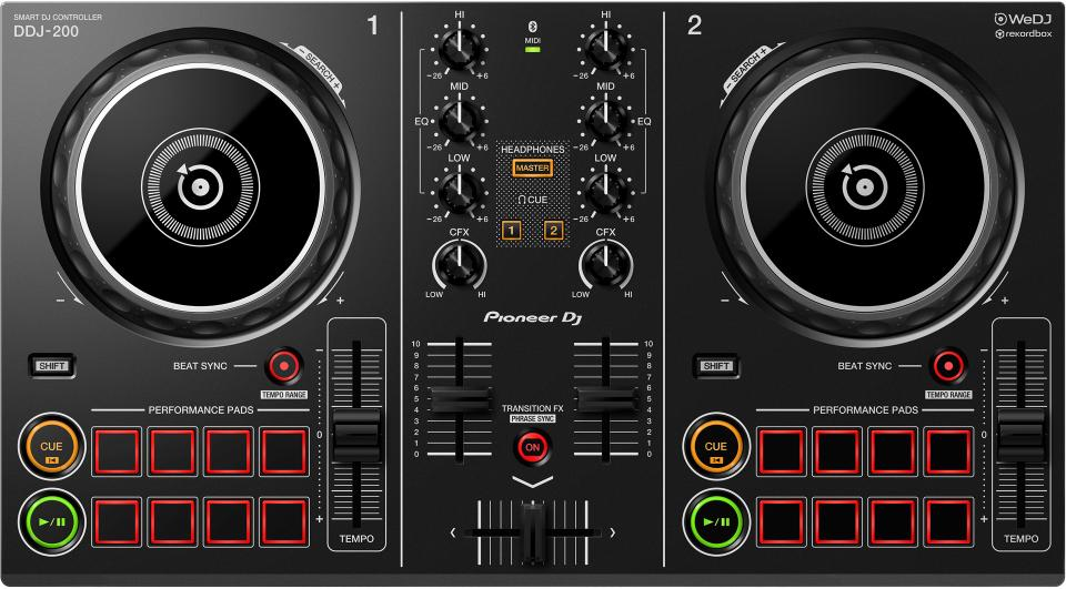 New Pioneer DDJ-200 Smart DJ Controller Makes Mixing Easy for All