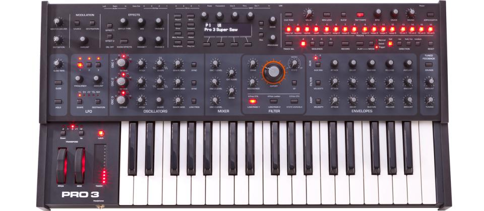 Sequential PRO 3 Multi-Filter Mono/3-Voice Paraphonic Synthesizer