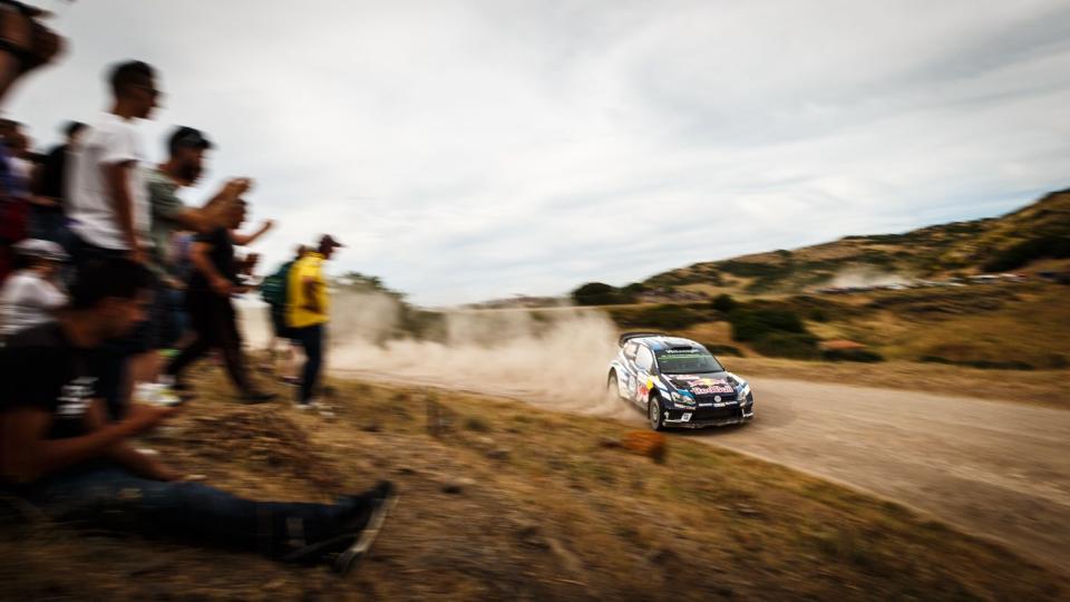 FIA World Rally Championship in Sardinia, Italy