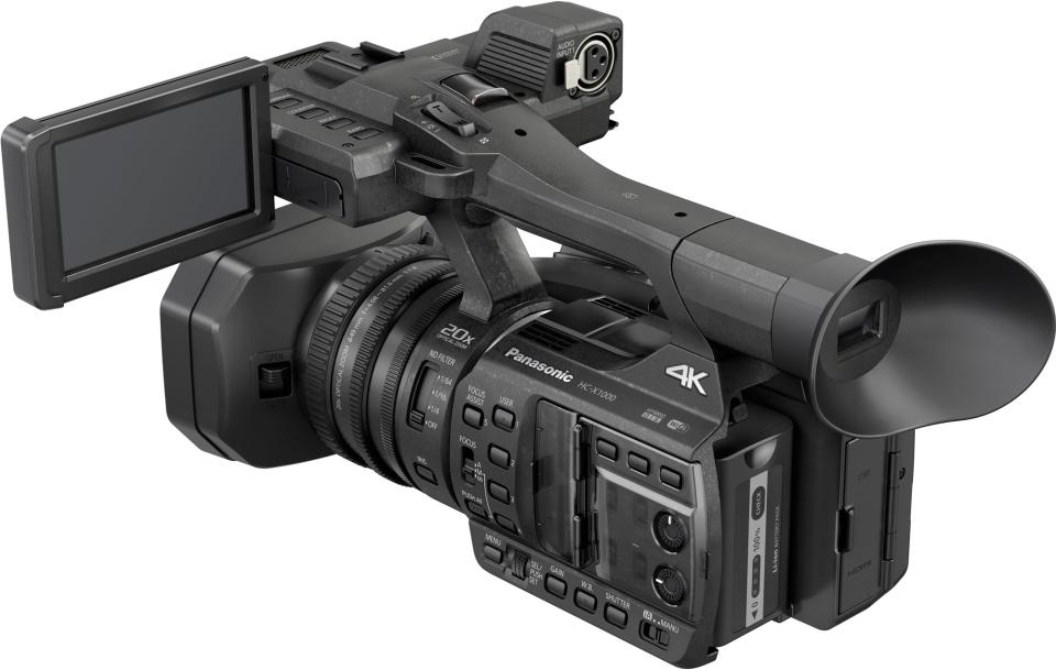 First Look: New Panasonic HC-X1000 4K Camcorder, Packed with ...