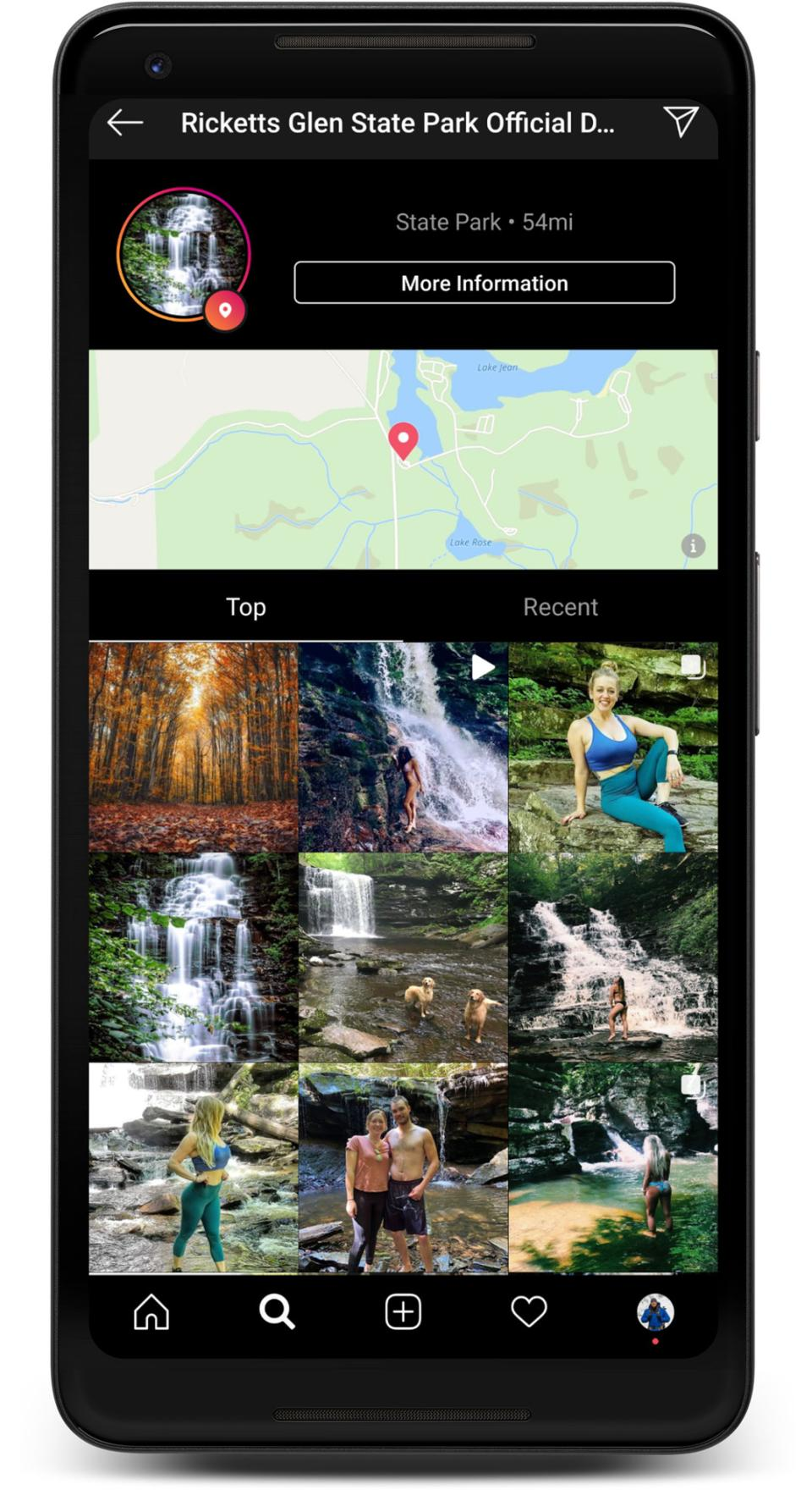 Using Instagram can give you a preview of the location you intend to go photograph.