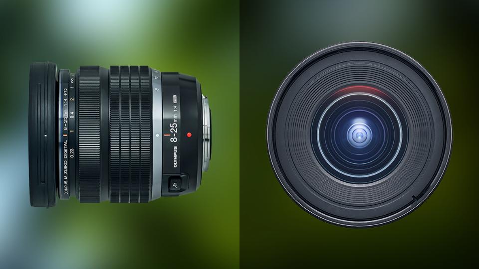 M.Zuiko Digital ED 8-25mm f/4.0 PRO lens