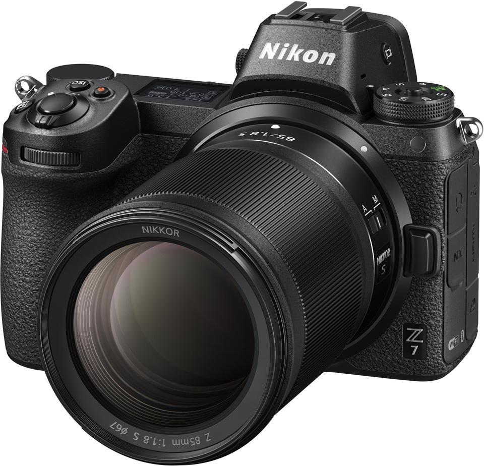 NIKKOR 85mm f/1.8 S Lens on a Nikon Z 7
