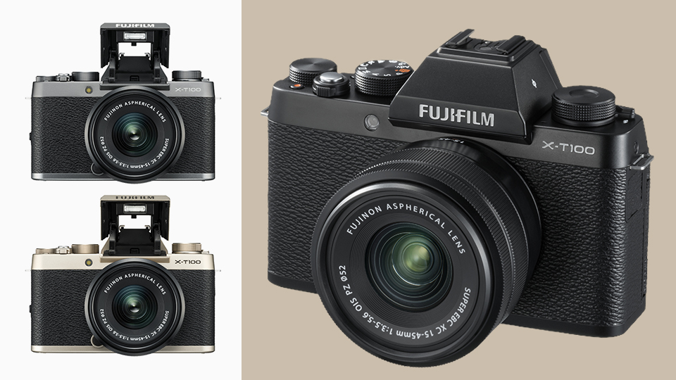 Fujifilm Elevates Entry Level with X-T100 Mirrorless Camera