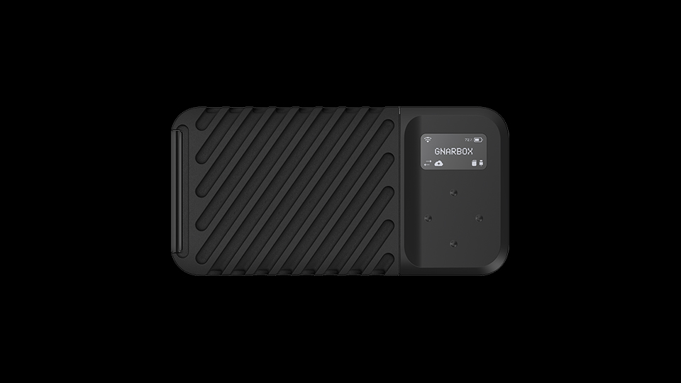 The GNARBOX 2.0 SSD Rugged Backup Device: up to 1TB… and no Laptop!