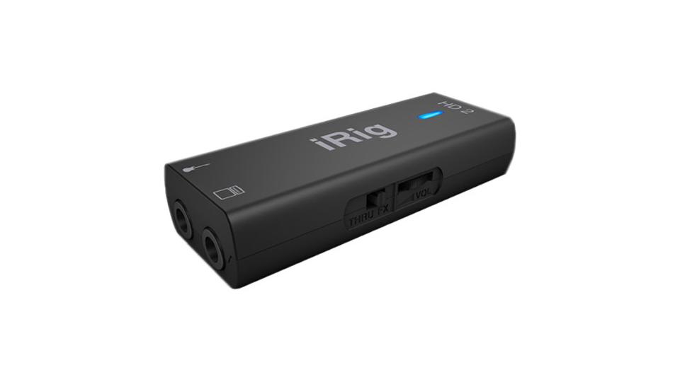 IK Multimedia iRig HD 2 Guitar Interface for iOS, Mac, and PC | B&H Explora