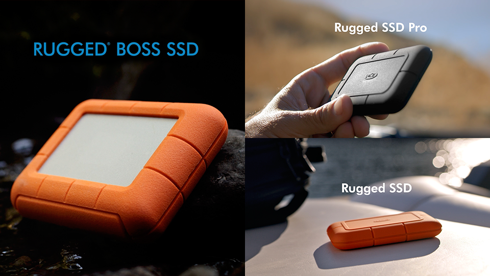 LaCie Rugged External SSDs Deliver Speed and Durability