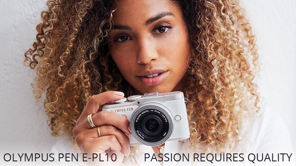 Olympus Announces PEN E-PL10 Mirrorless Micro Four Thirds Camera