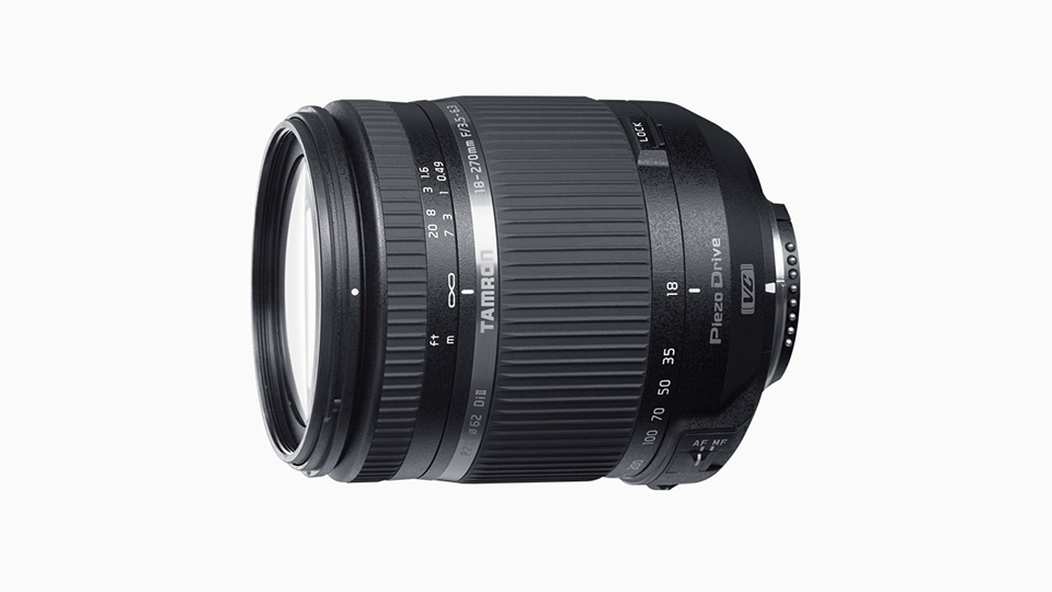 Tamron Updates its 18-270mm Di II All-in-One Lens