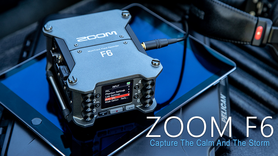 Zoom Introduces the Compact and Powerful F6 Field Recorder | B&H Explora
