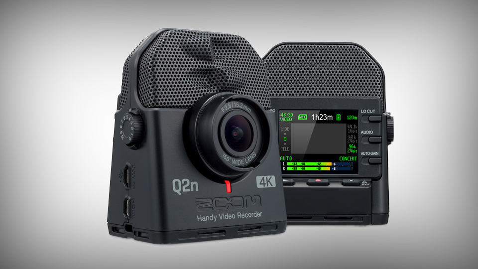 Announcing the ZOOM Q2n-4K: Audio/Video Capture for Musicians