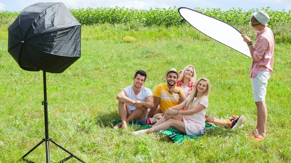 lighting gear for outdoor portraits b h explora
