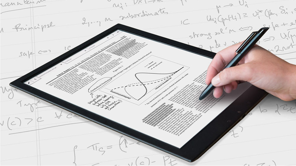 sony digital paper. the sony dpts1 digital paper system: all your documents on one slim device | b\u0026h explora