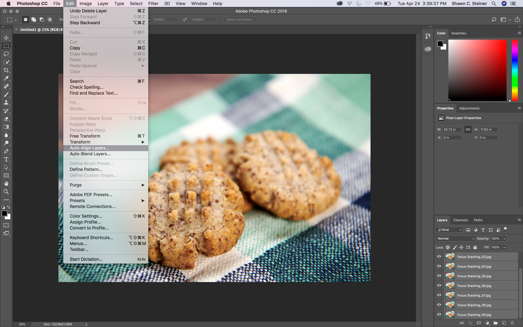 Photo-Editing Tutorial: Focus Stacking for Macro Photography