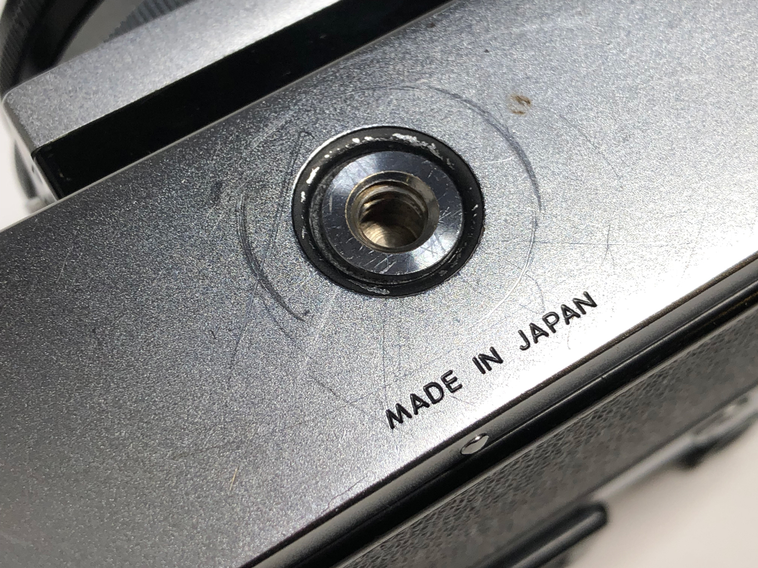 Classic Camera Review The Original Nikon Fs Bh Explora Plate Circuitry Location Dallas Fort Worth Area Current Electro Word Japan Is Engraved On Lock Latch Of Back First Few Thousand But Was Moved To Center Bottom