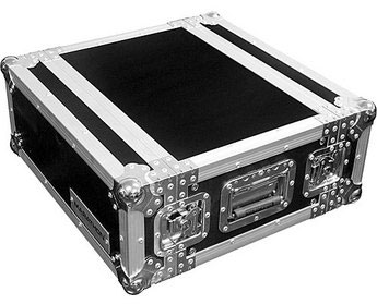 Marathon MA-2UED Flight Ready 2U Deluxe Effects Rack Case (Black)