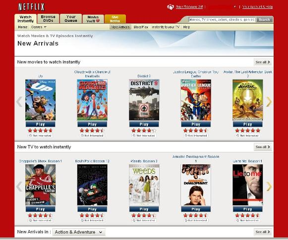 hook up for netflix streaming