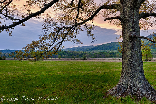 Cades Cove, Great Smoky Mountains National Park ©Jason Odell