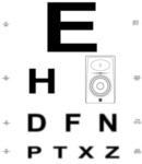 eyechart with jbl
