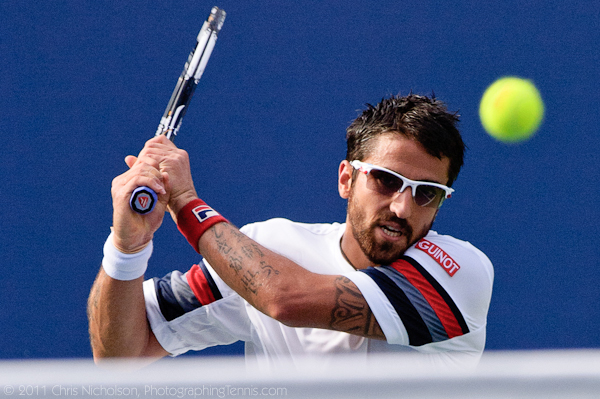 Janko Tipsarevic, US Open, photo © 2011 Chris Nicholson