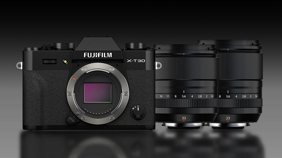 FUJIFILM X-T30 II, XF 33mm f/1.4 R LM WR Lens, and XF 23mm f/1.4 LM WR Lens