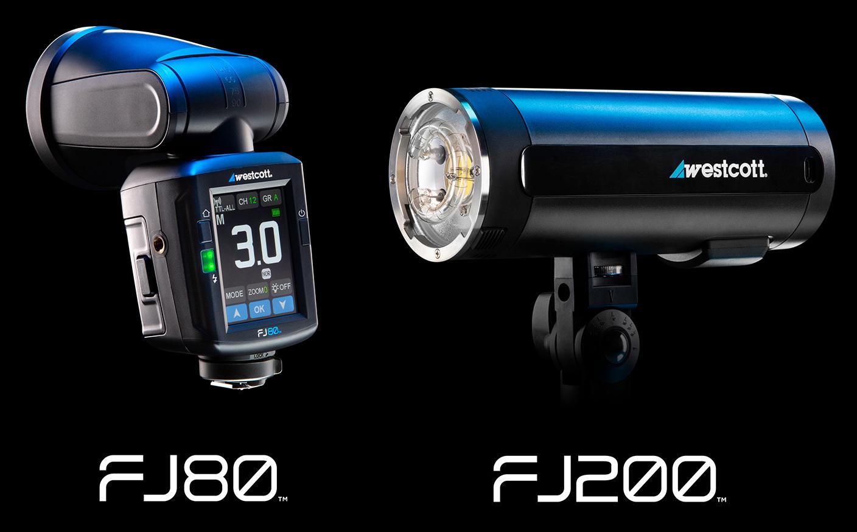 Westcott FJ80 Universal Flash and FJ200 Strobe