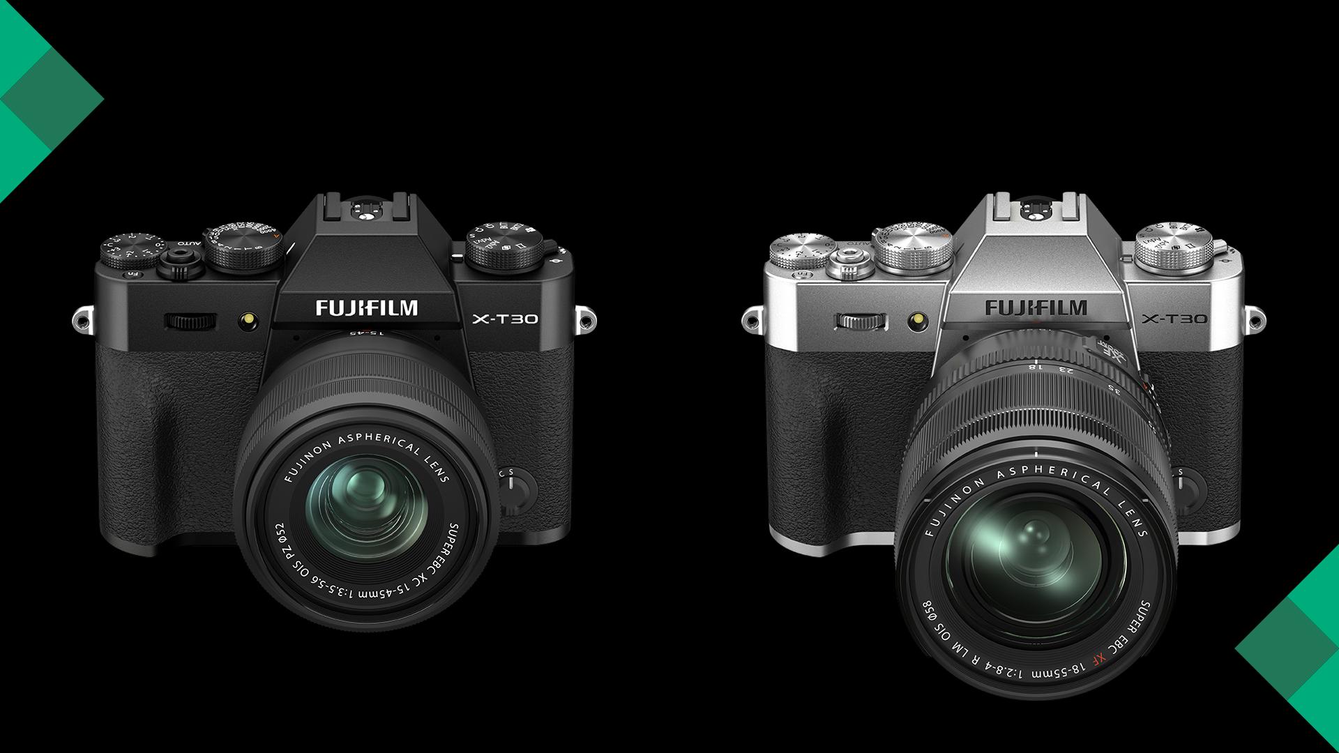FUJIFILM X-T30 II in Black or Silver