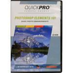 quickpro dvd  photoshop elements 101 by jane conner ziser