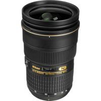 Nikon AF-S Nikkor 24-70mm f/2.8G ED Autofocus Lens (Black)